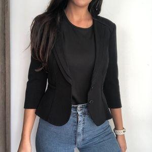 White House Black Market Jackets & Coats - White house black market black fitted blazer 0